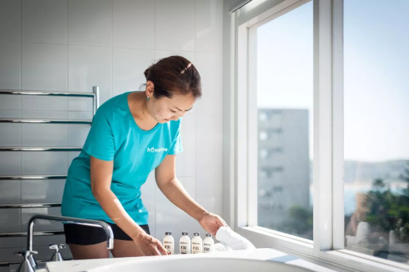 Hometime on-demand housekeeping cleaning service