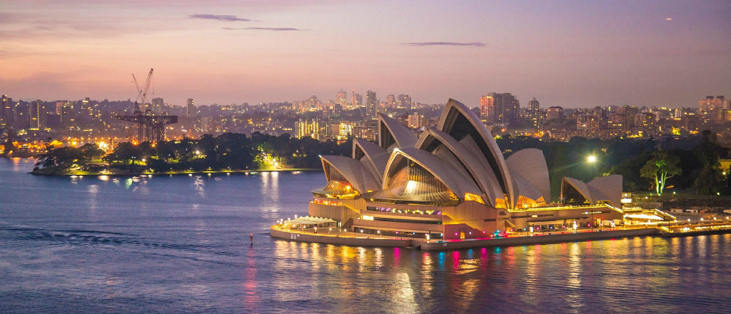 Sydney Opera House 1024 x 440